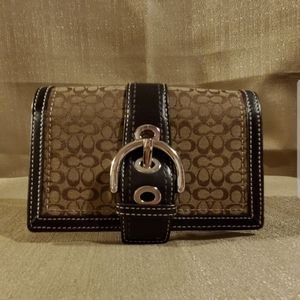 Coach used wallet